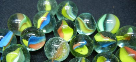 CAT'S-EYE MARBLES