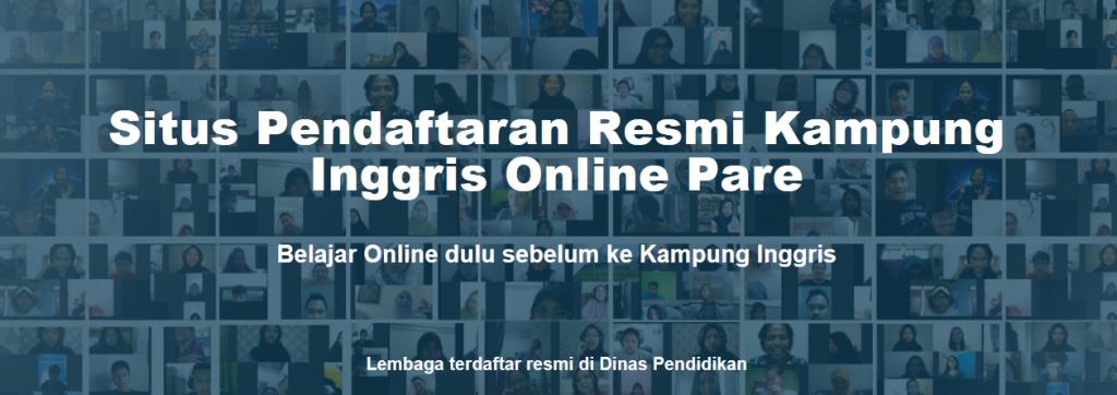 Pendaftaran Kampung Inggris Online