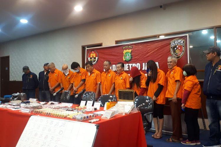 Polisi Jakarta Utara Berhasil Tangkap Pelaku Judi Domino QQ Online